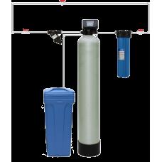 Гейзер Система для обезжелезивания-умягчения воды с автоматической промывкой по расходу WS1044/F65P3-A (Экотар А)