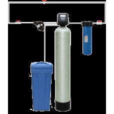 Гейзер Система для обезжелезивания-умягчения воды с автоматической промывкой по расходу WS1044/WS1Cl (Экотар А)