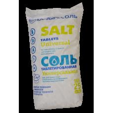 Соль таблетированная 25 кг.