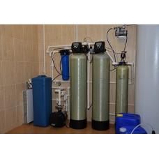 Комплексная система водоочистки (аэрация-обезжелезивание-умягчение)