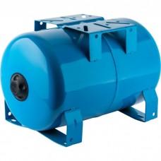 Бак (гидроаккумулятор)  20 л. WAO STOUT (горизонтальный синий)