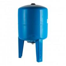 Бак (гидроаккумулятор) 100л WAO STOUT (вертикальный синий)