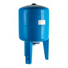 Бак (гидроаккумулятор) 50л WAO STOUT (вертикальный синий)